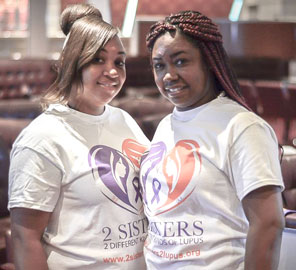 Walk A Thon To Benefit 2 Sisters 2 Different Kinds Of Lupus On